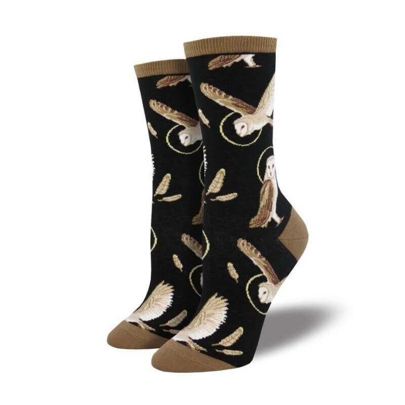 Wise And Shine Owl Socks - Cute Dose
