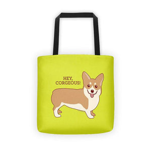 Hey Corgeous Tote Bag - Cute Dose