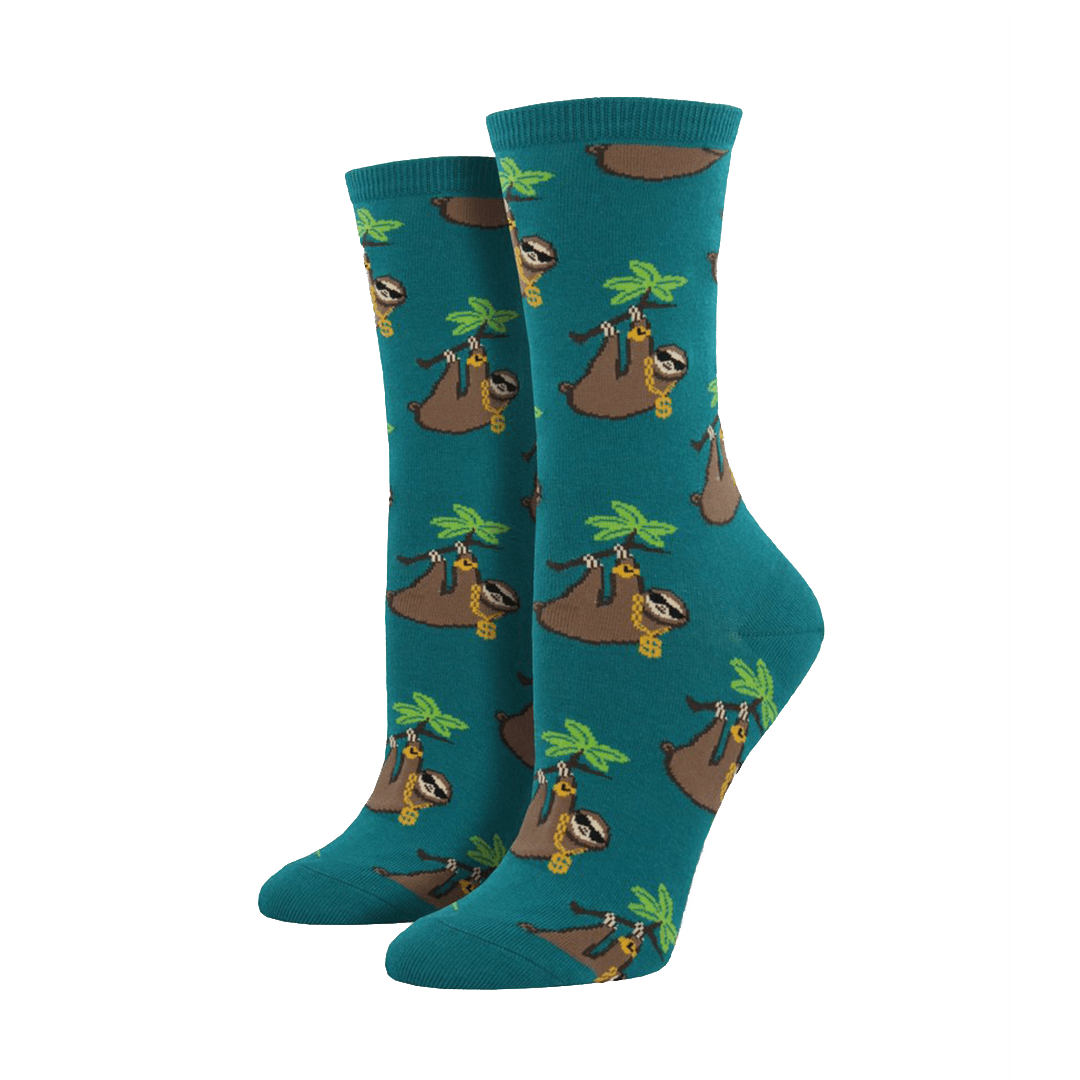Sloth Bling Socks - Cute Dose