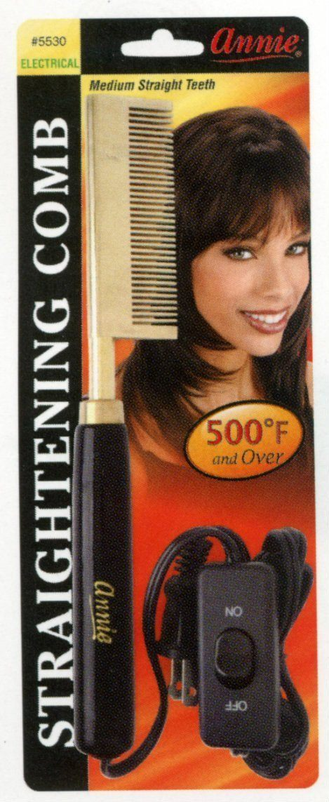 #5530 Annie Electrical Straightening Comb Straight (Pc)