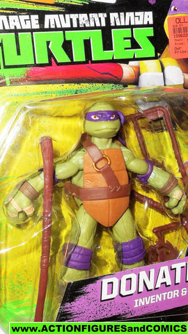 teenage mutant ninja turtles DONATELLO Original eye deco 2016 Nickelodeon playmates moc
