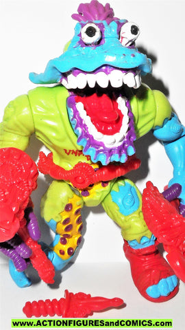 teenage mutant ninja turtles WYRM worm 1991 complete playmates tmnt