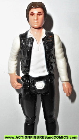 star wars action figures HAN SOLO 1977 small head kenner vintage fig