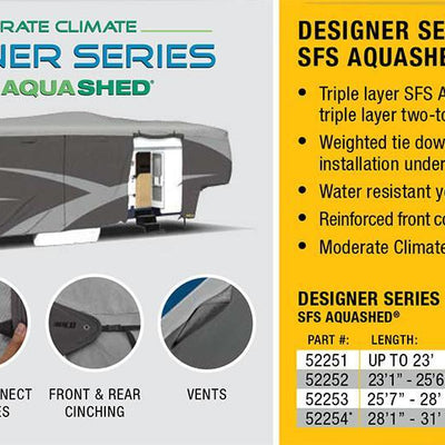 ADCO 5th Wheel RV Cover Features