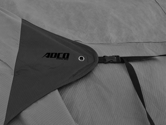 ADCO Front & Rear Cinching Straps