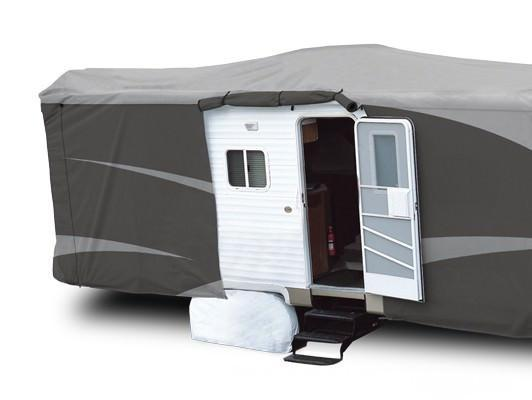 RV Cover With Quick Zipper Access