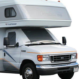 Ford Class C RV Windshield Cover With Privacy Window