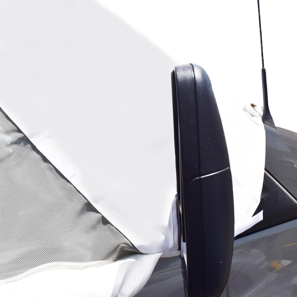 Dodge Ram Promaster Van Windshield Cover With Privacy Windows