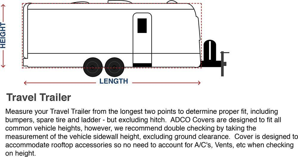 How To Measure Your Travel Trailer Cover