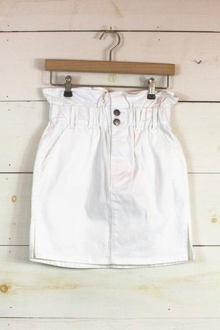 Blossomed Shorts in Off White