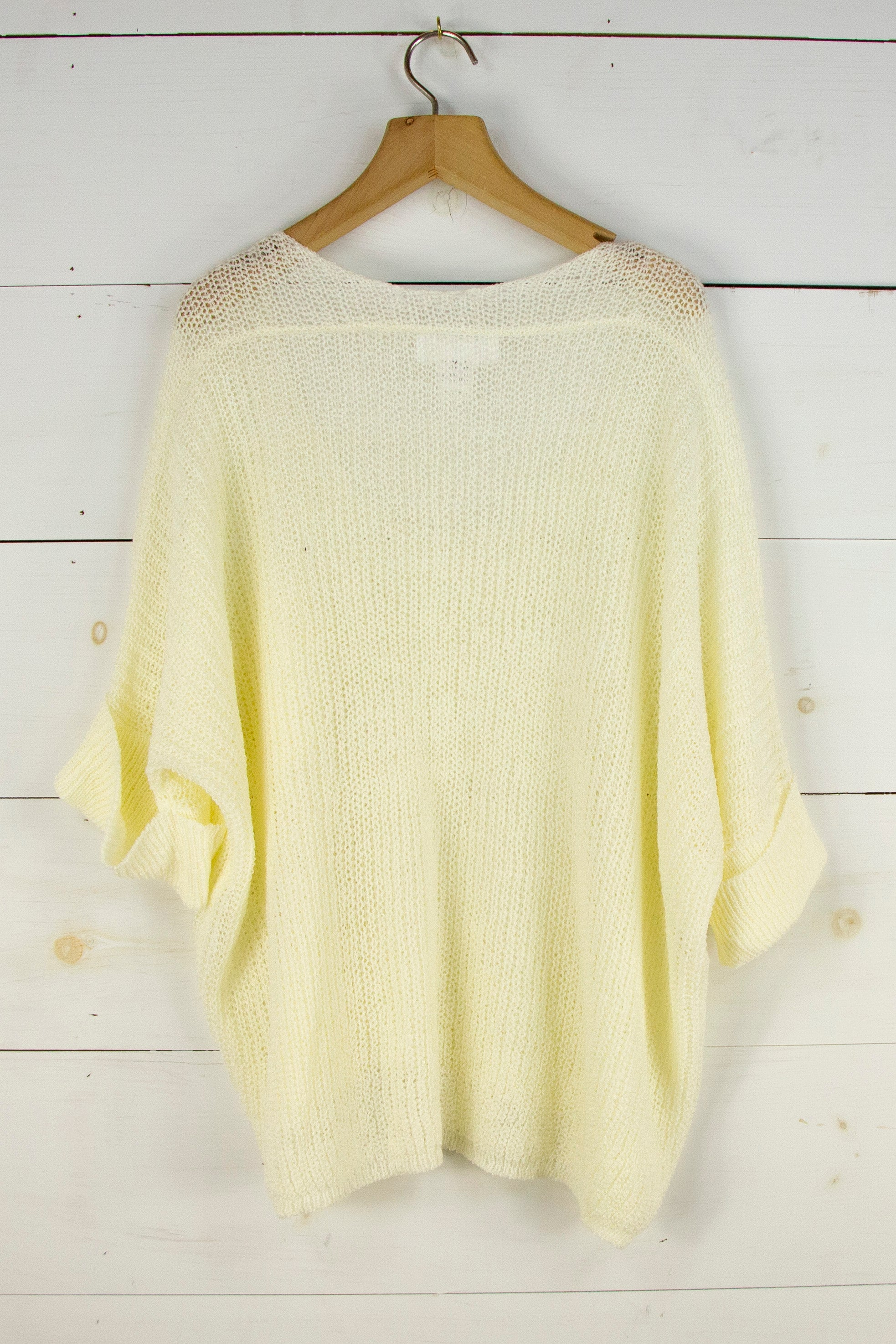 Summer Evenings Sweater in Off White
