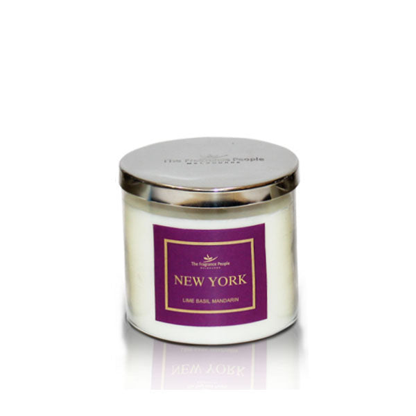 3 Wick Jar New York Candle - The Fragrance People