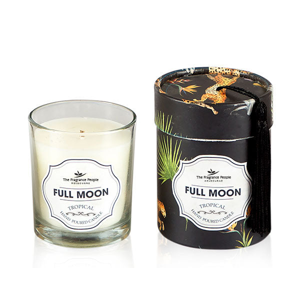 Full Moon Glass Candle - The Fragrance People