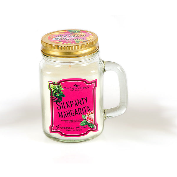 Silkpanty Mason Jar Candle - The Fragrance People