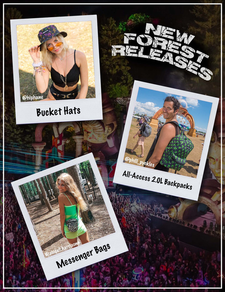 Electric Forest Hydration Packs & Accessories