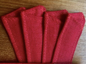 Organic Red Hemp Sleeve