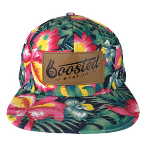 Boosted Status Snapback Hat - Floral