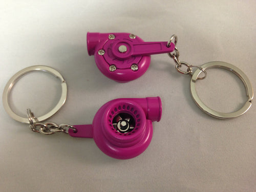 Spinning Turbo Keychain - Pink