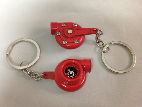 Spinning Turbo Keychain - Red