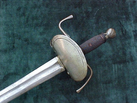 17th Century Spanish/Mexican Broad Sword, #874 Edged Weapons