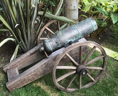 16th-17th Century European Bronze Cannon