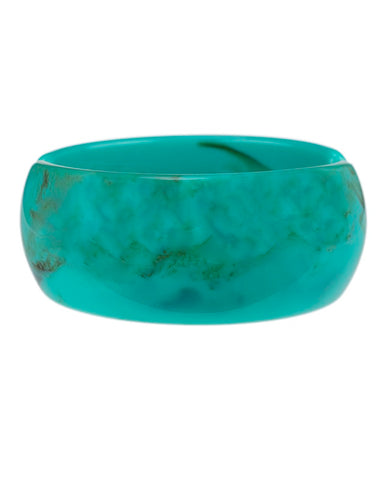 Turquoise Resin Cuff