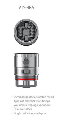 SMOK V12 RBA Coil for TFV12 Cloud Beast King 1 pc
