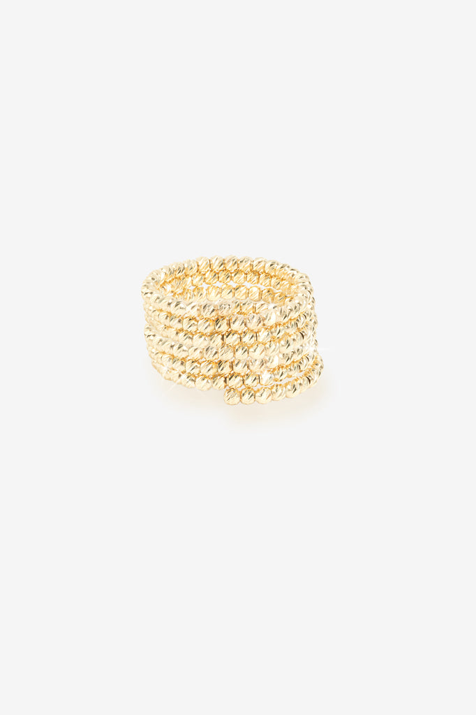 14K Gold Double Wrap Ring