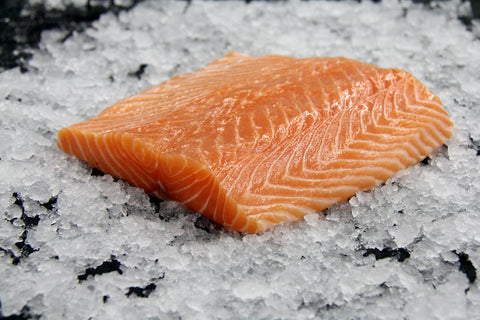 Frozen Farmed Sashimi Grade Canadian Salmon Fillet (Sake)