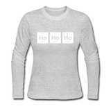 """Ho-Ho-Ho"" - Women's Long Sleeve"