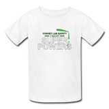 """Forget Lab Safety"" - Kids' T-Shirt white / XS - LabRatGifts - 7"