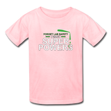 """Forget Lab Safety"" - Kids' T-Shirt pink / XS - LabRatGifts - 6"