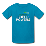 """Forget Lab Safety"" - Kids' T-Shirt turquoise / XS - LabRatGifts - 3"