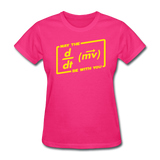 """May the Force Be With You"" - Women's T-Shirt fuchsia / S - LabRatGifts - 5"