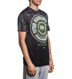 Ambrose - Mens Short Sleeve Tees - American Fighter