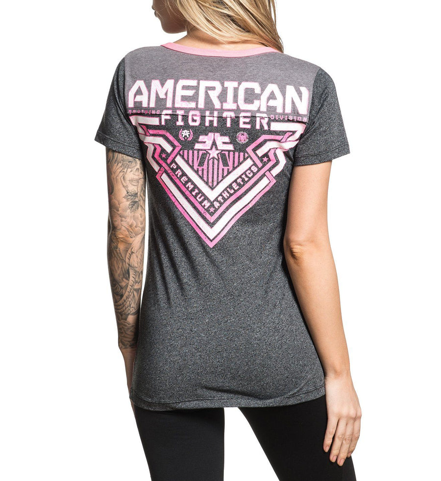 Dyersville - Womens Short Sleeve Tees - American Fighter