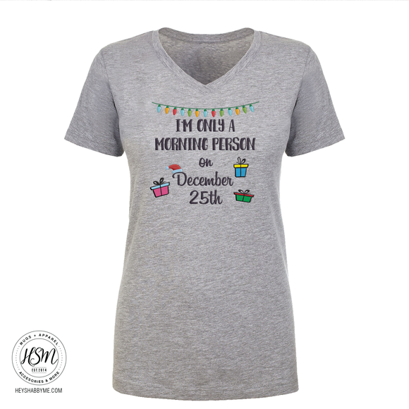 Morning Person - Tee - Shirt