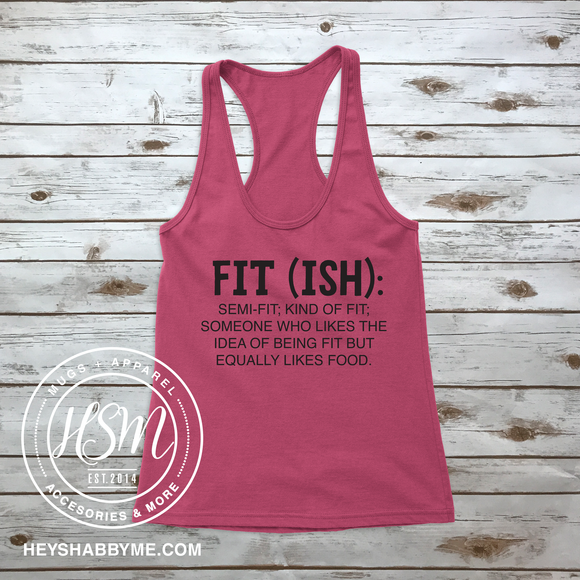 Fit - Ish - Tank - Top - Shirt