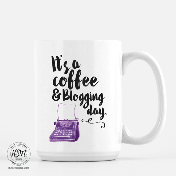 Coffee, Blogging - Mug