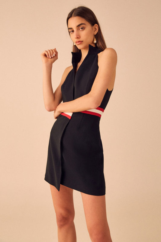 PURSUE MINI DRESS black