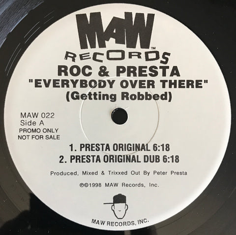 Maw-022 Everybody Over There - Roc & Presta