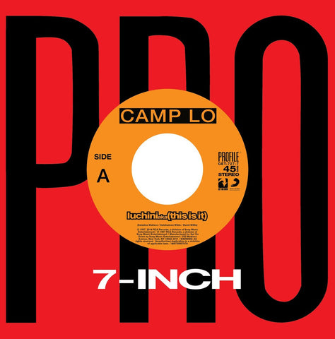 GET-727 Camp Lo-Luchini aka (This Is It)/Swing