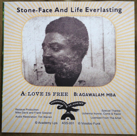 ASS-001 Stoneface & Life Everlasting-Love Is Free/Agawalam Mba