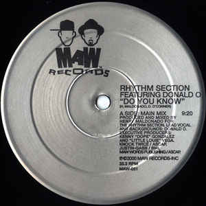 Maw-051 Do You Know - Rhythm Section