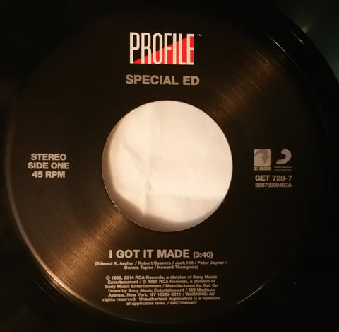 GET-728 Special Ed-I Got It Made/I Got It Made (Businesslike Version)