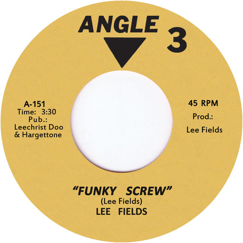 TR-151 Funky Screw/The Bull Is Coming - Lee Fields