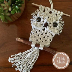 Hooter the Baby Owl Macrame Kit