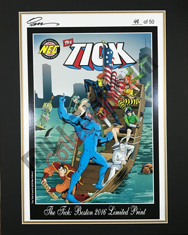 Boston 2016 Exclusive Print - The Tick
