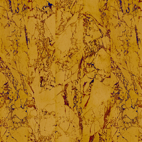 NLXL Materials Collection - PHM-80 Gold Metallic Marble Wallpaper by Piet Hein Eek