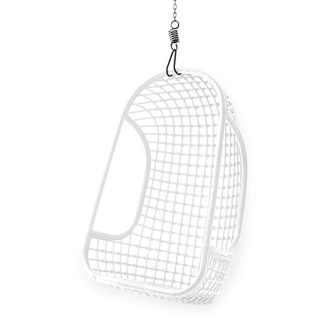 Hanging Chair - white rattan